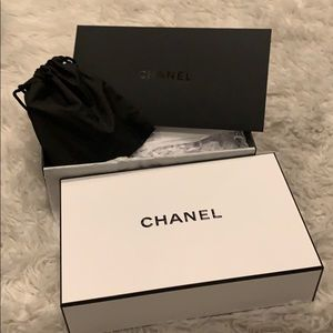 CHANEL Accessories - Chanel Gift Box With Satchel of gifts